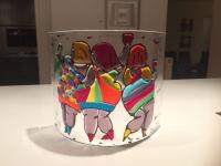 16, glaskunst dikke dames, herma peterman