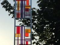 01, Tuinobject, glaskunst in tuin
